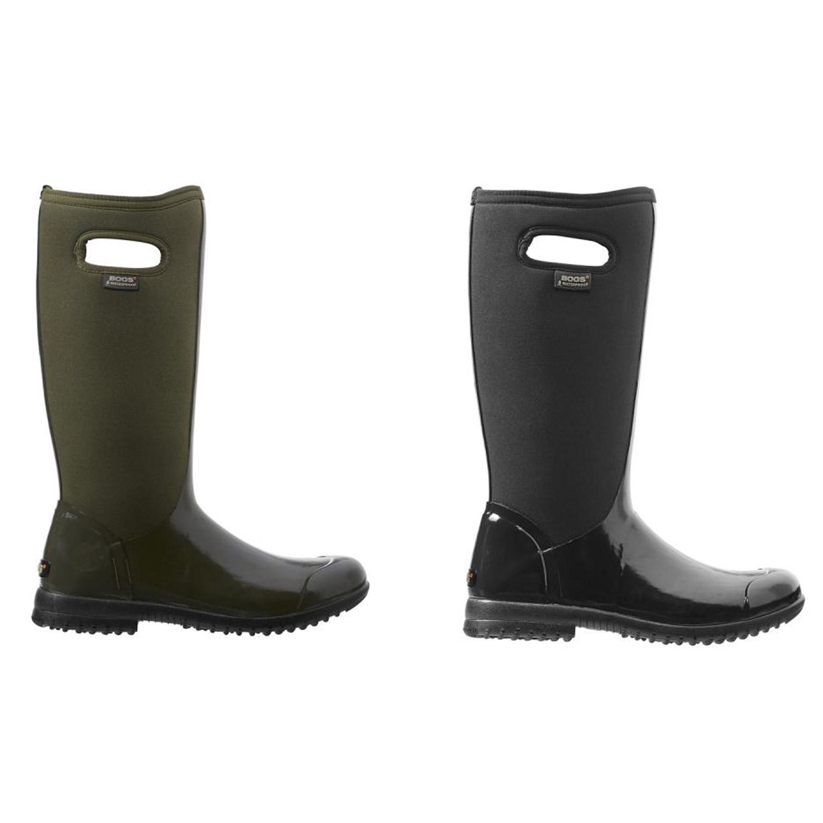 Bogs 71768 Women's Sidney Tall Waterproof Insulated Pull