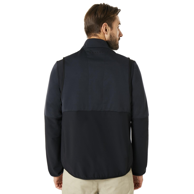 Oakley-Golf-Engineered-Soft-Shell-Full-Zip-Jacket-412576-Pick-Color thumbnail 4