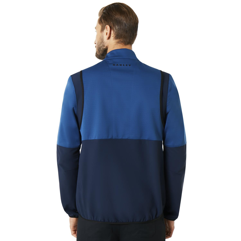 Oakley-Golf-Engineered-Soft-Shell-Full-Zip-Jacket-412576-Pick-Color thumbnail 6