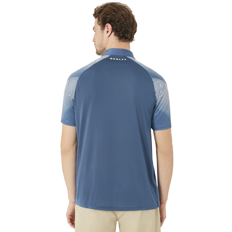 Oakley-434032-Men-039-s-Aero-Motion-Sleeve-Golf-Polo-Shirt-Pick-Size-amp-Color thumbnail 3
