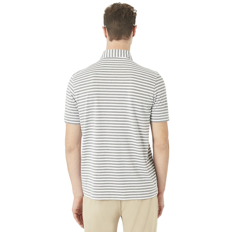 Oakley-Golf-2018-Speed-Stripe-Men-039-s-Polo-Shirt-434038-Pick-Size-amp-Color thumbnail 4