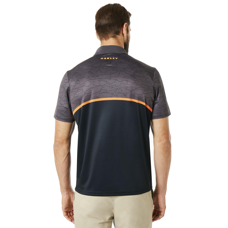 Oakley-Golf-2018-SS-Color-Block-Camou-Men-039-s-Polo-Shirt-434216-Pick-Color thumbnail 3
