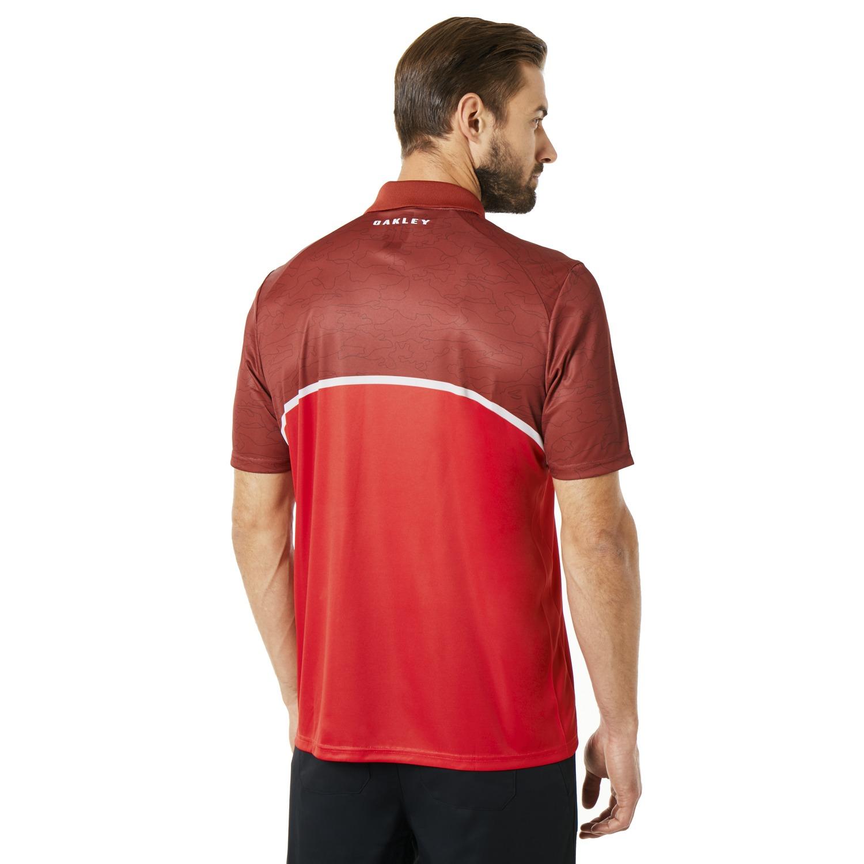 Oakley-Golf-2018-SS-Color-Block-Camou-Men-039-s-Polo-Shirt-434216-Pick-Color thumbnail 7