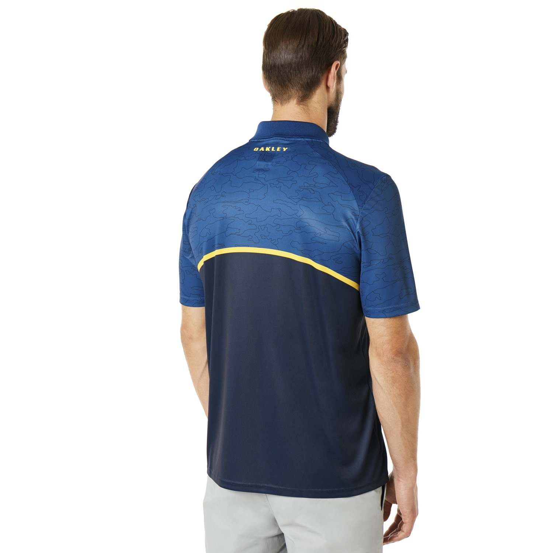 Oakley-Golf-2018-SS-Color-Block-Camou-Men-039-s-Polo-Shirt-434216-Pick-Color thumbnail 5