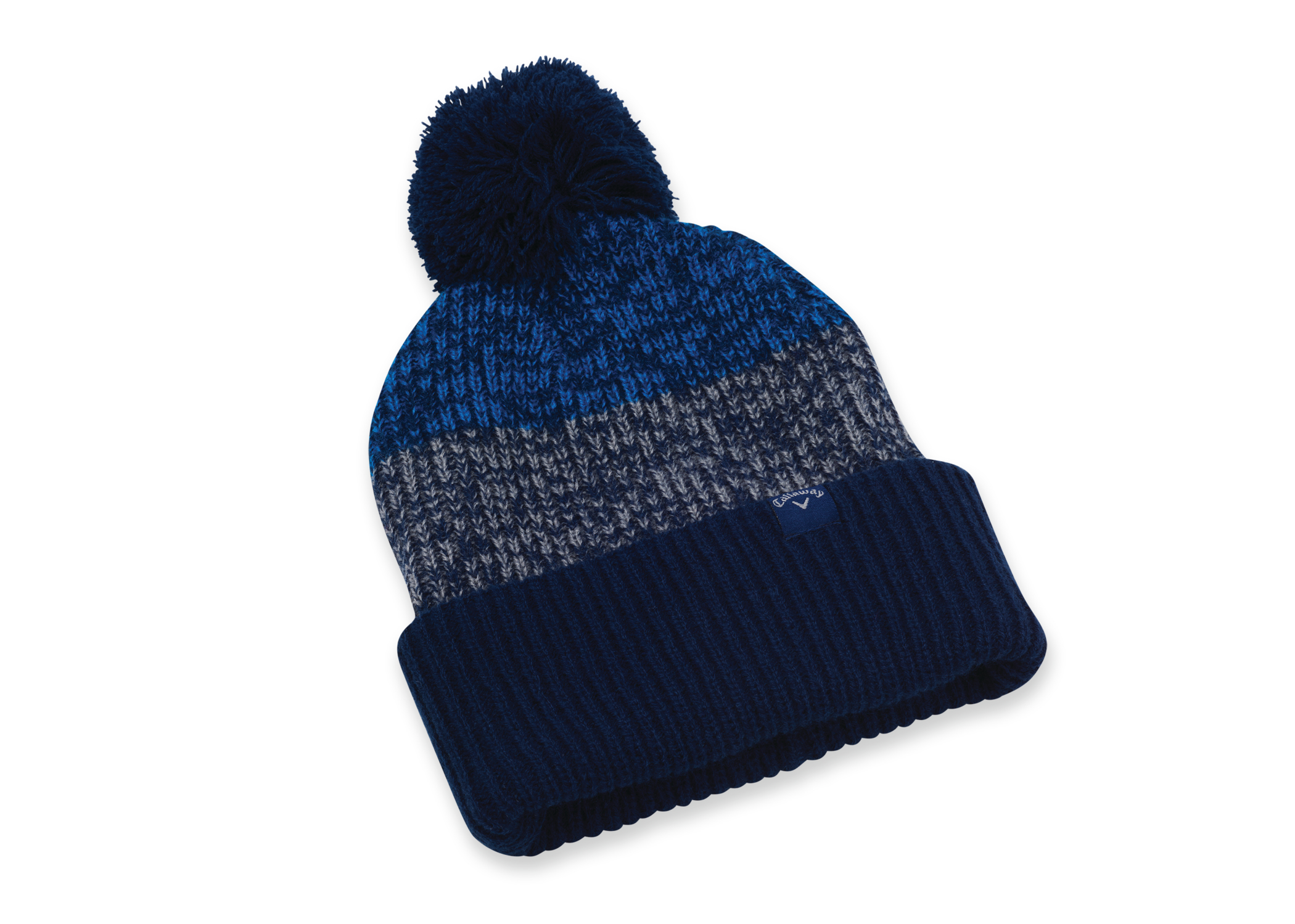 Details about New Callaway Golf Pom Pom Beanie Hat Cap - Navy Charcoal fcd9474d43f2