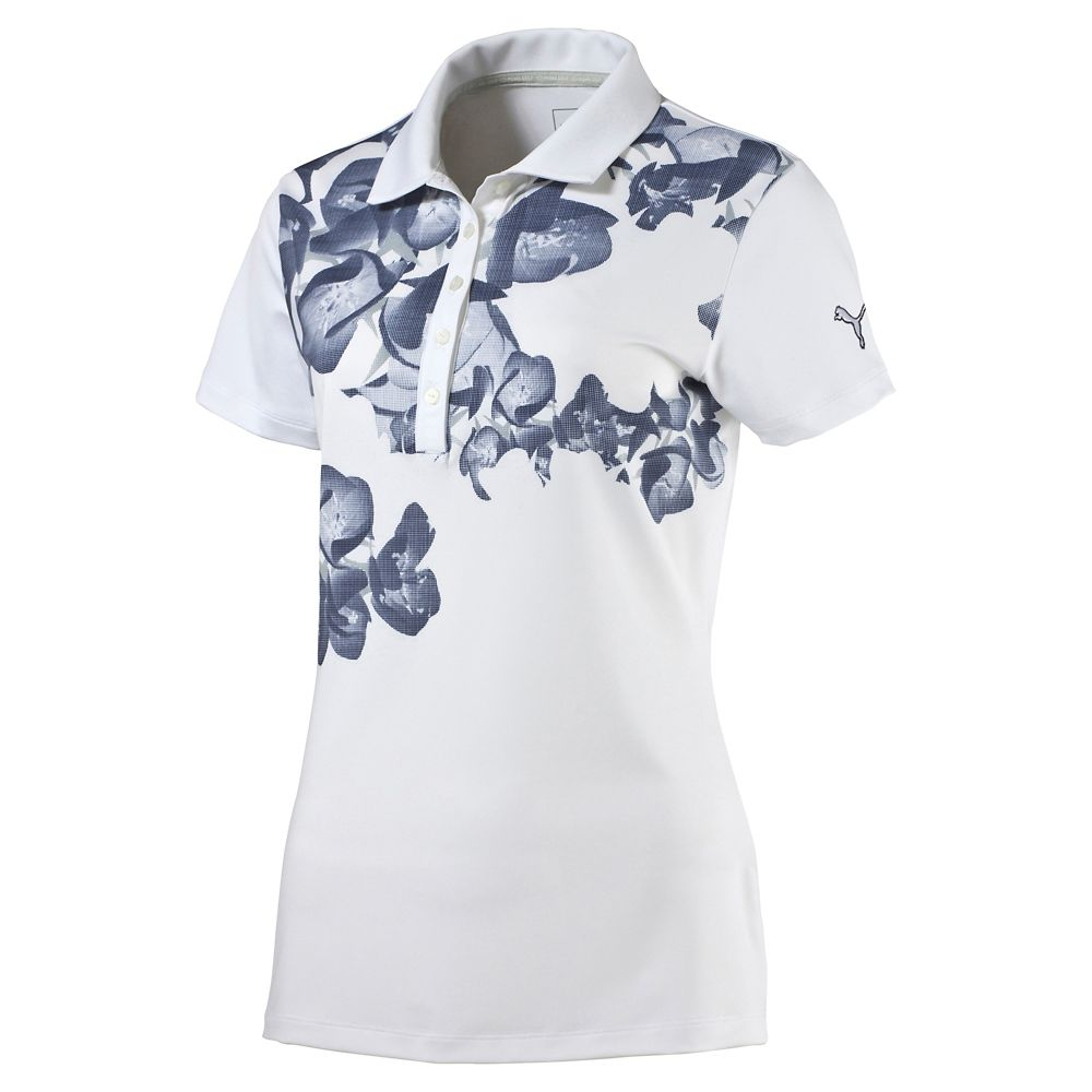 Details about New Puma Golf Women s Bloom Polo Shirt 571408 - Pick Size    Color 17a035c011