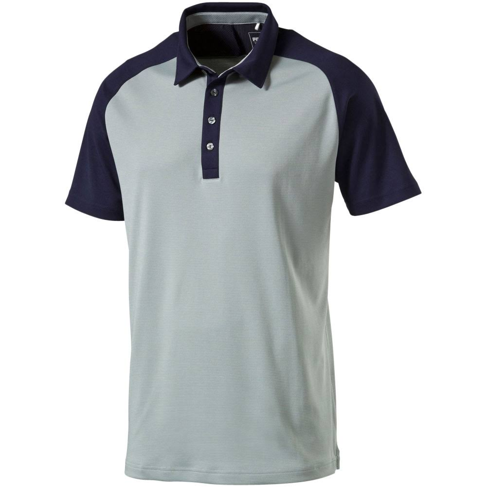 New 2016 Puma Golf Tailored Saddle Mens Polo Shirt 571442 - Pick Size;  Picture 2 of 2