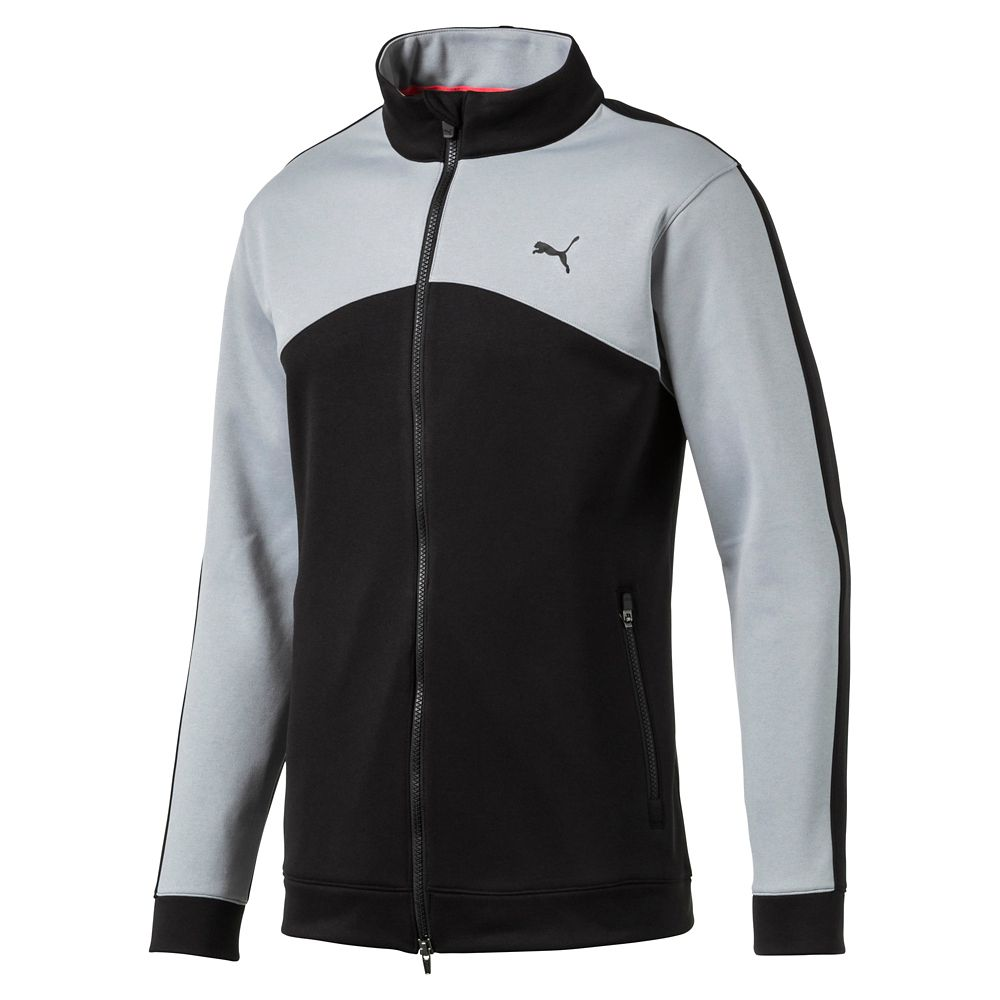 f4b8cac83e86 PWRWARM Heritage Golf Track Jacket S PUMA Black. About this product.  Picture 1 of 2  Picture 2 of 2