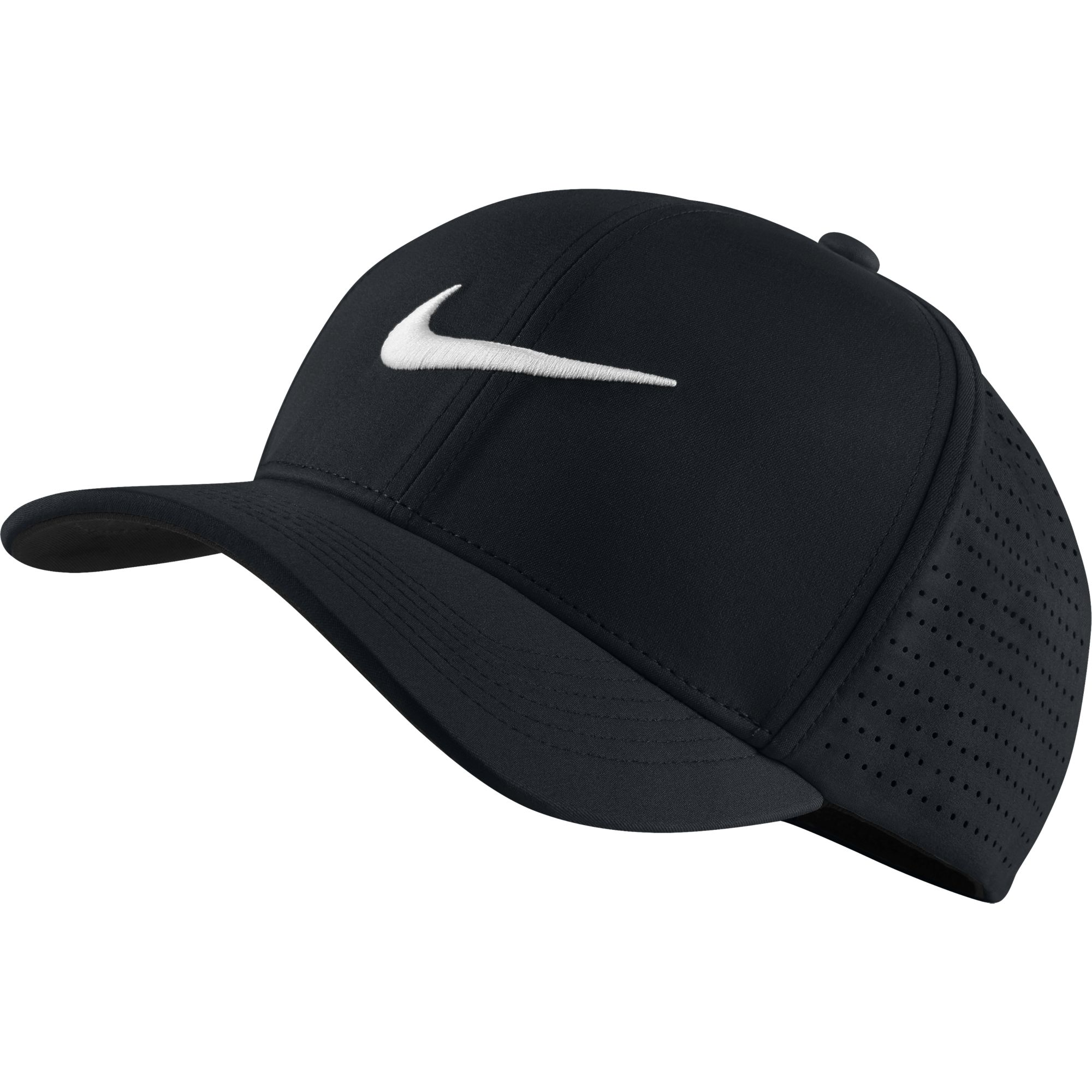The Nike Classic 99 Fitted Golf Hat Offers A Comfortable Fit And Exceptional Airflow On Course With Stretch Fabric Laser Cut Perforations