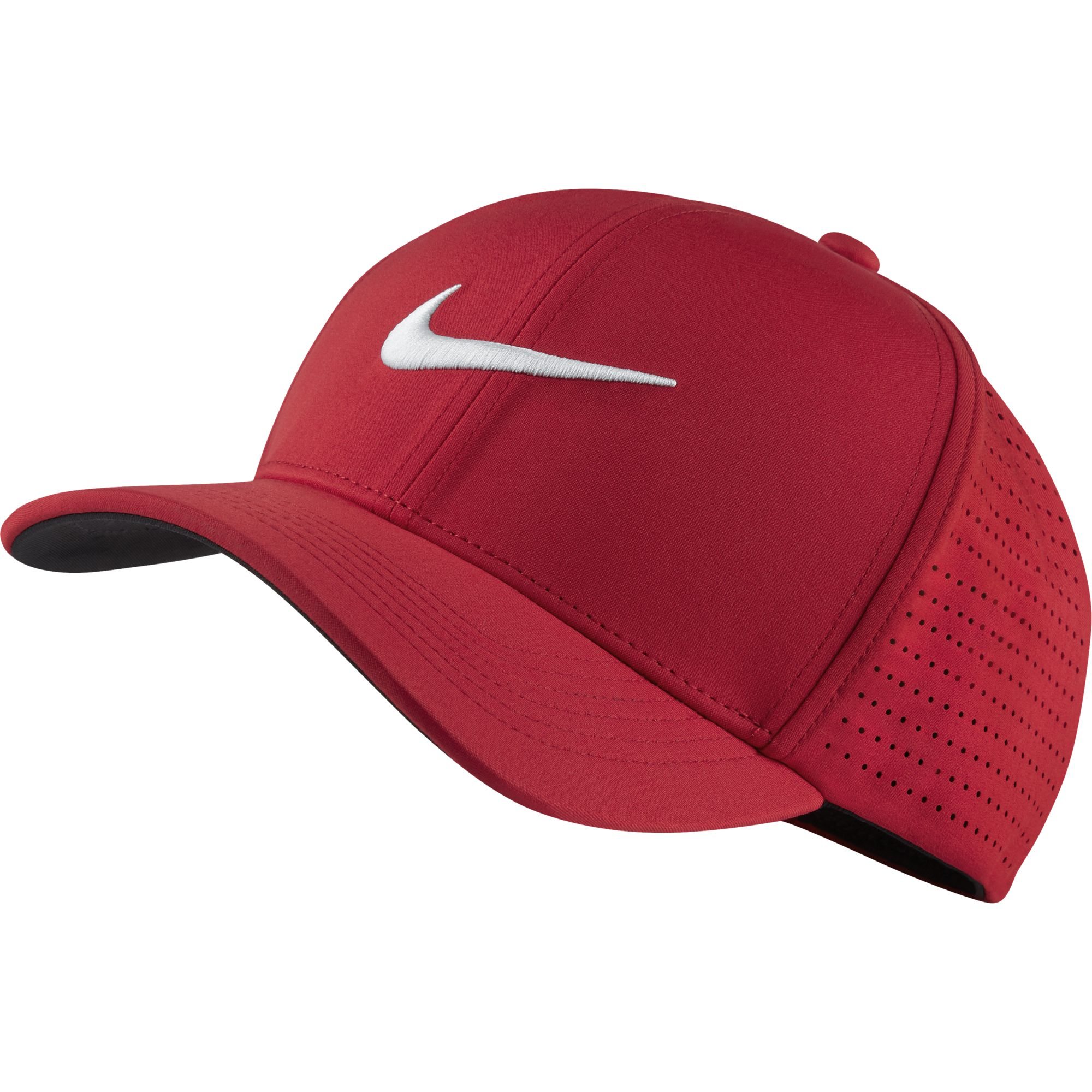 The Nike Classic 99 Fitted Golf Hat offers a comfortable fit and  exceptional airflow on the course with stretch fabric and laser-cut  perforations on the ... 00735a6d948