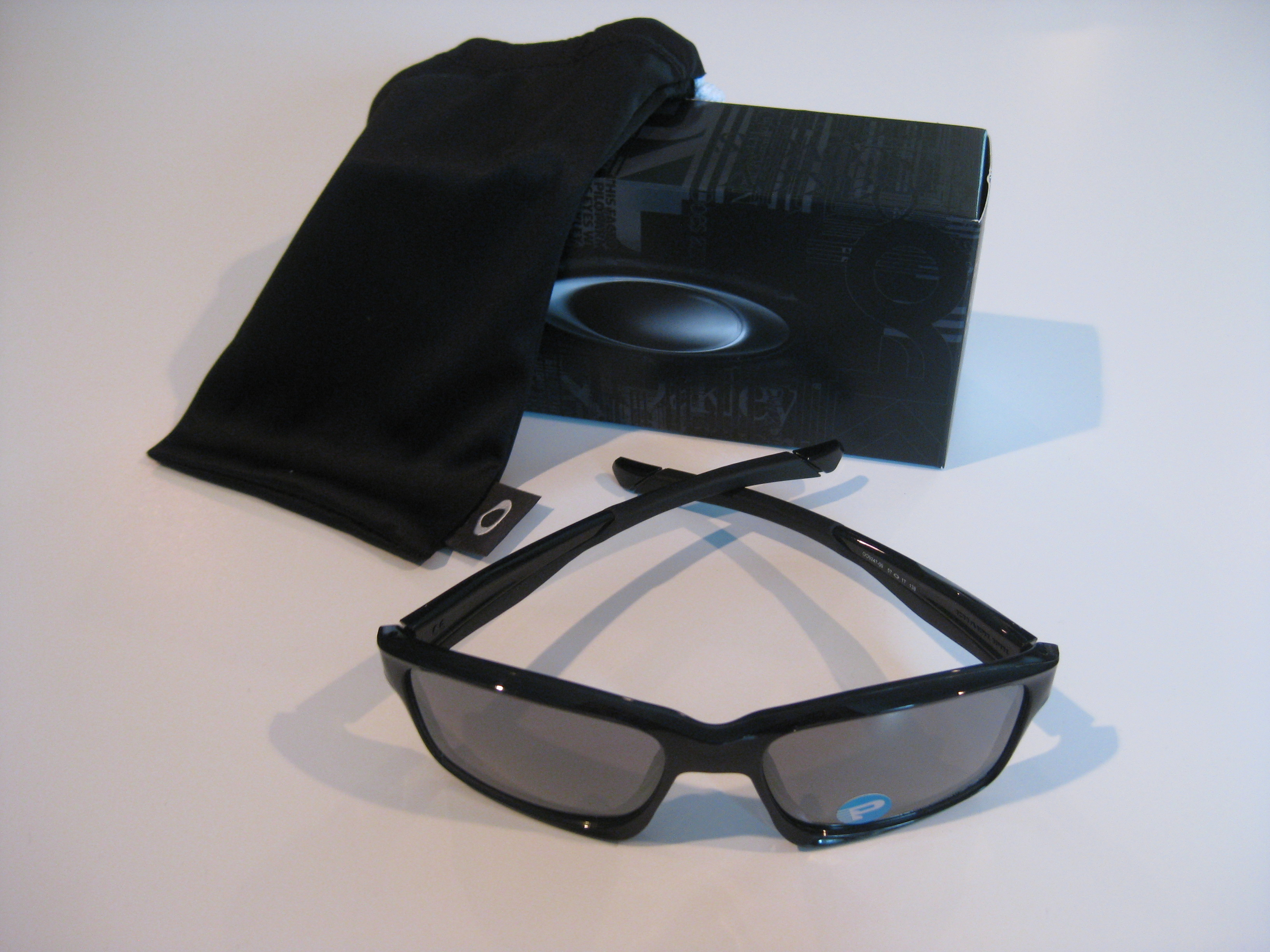 eeaa56ce16d3 New Oakley Chainlink Sunglasses Black Ink Black Iridium Polarized ...