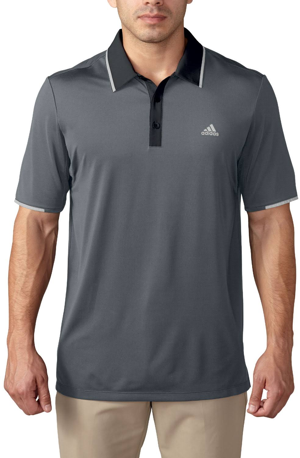 Adidas Golf ClimaCool Branded Performance Polo Shirt Pick Size & Color;  Picture 2 of 2