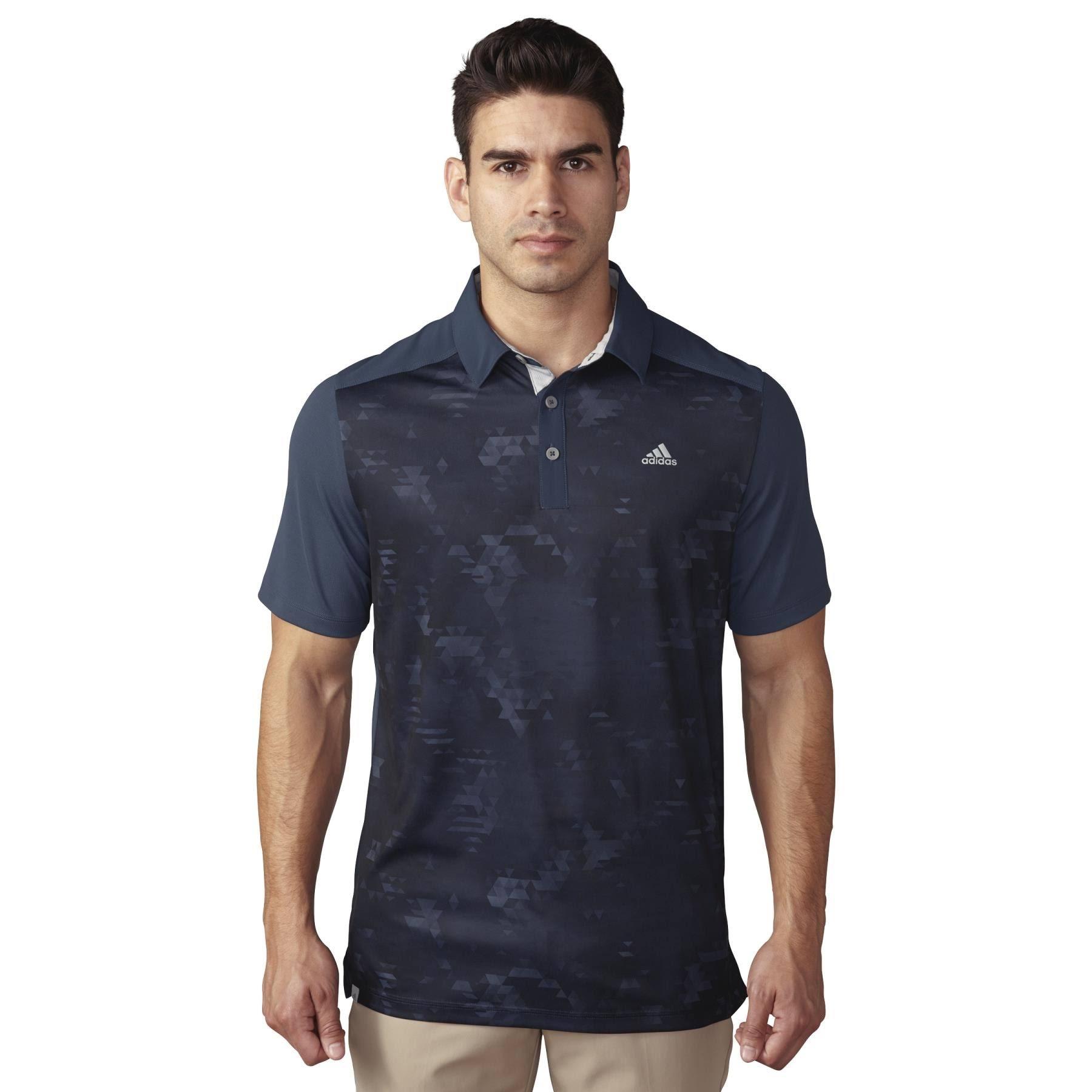 Tayjb Tm1311s6 adidas Golf Mens Climacool Geo Print Polo Shirt ...