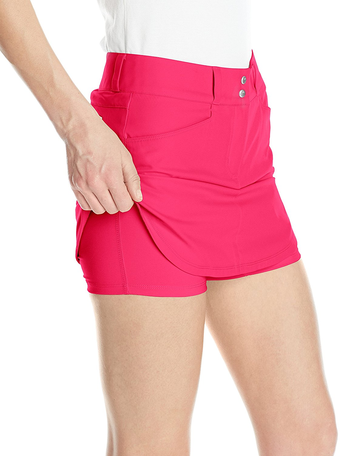 Adidas-Golf-Women-039-s-Essentials-3-Stripes-Skort-Pick-Size-amp-Color thumbnail 12