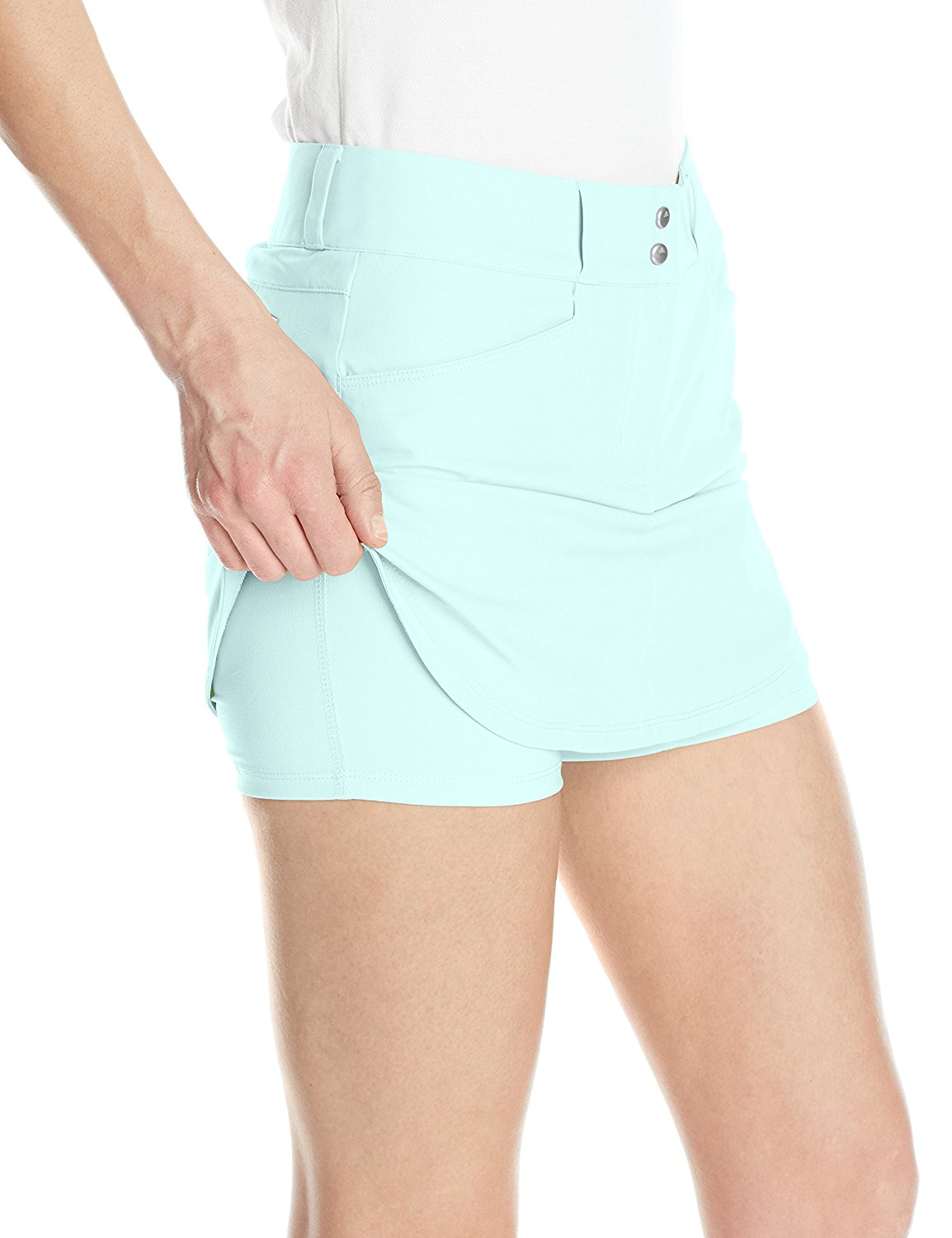 Adidas-Golf-Women-039-s-Essentials-3-Stripes-Skort-Pick-Size-amp-Color thumbnail 17