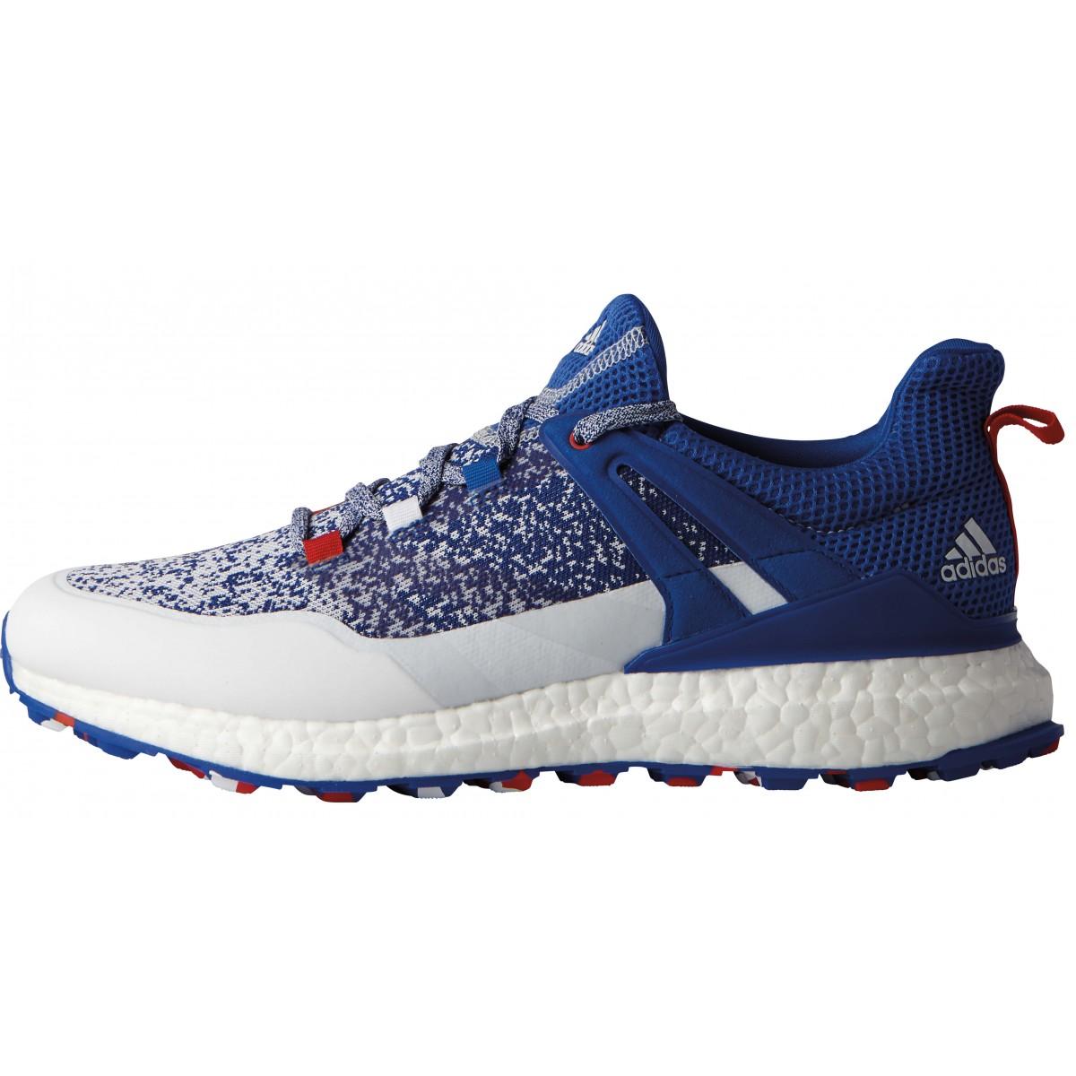 adidas 2017 crossknit impulso mens, edizione limitata di scarpe da golf bianca