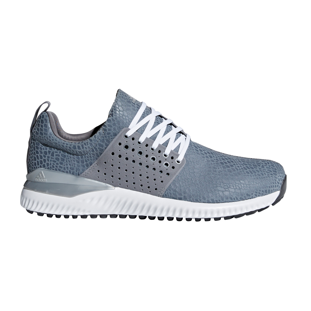 huge selection of 4cf5d d7ba8 Details about Adidas 2018 Adicross Bounce Mens Spikeless Golf Shoes F33727  - GreyWhite
