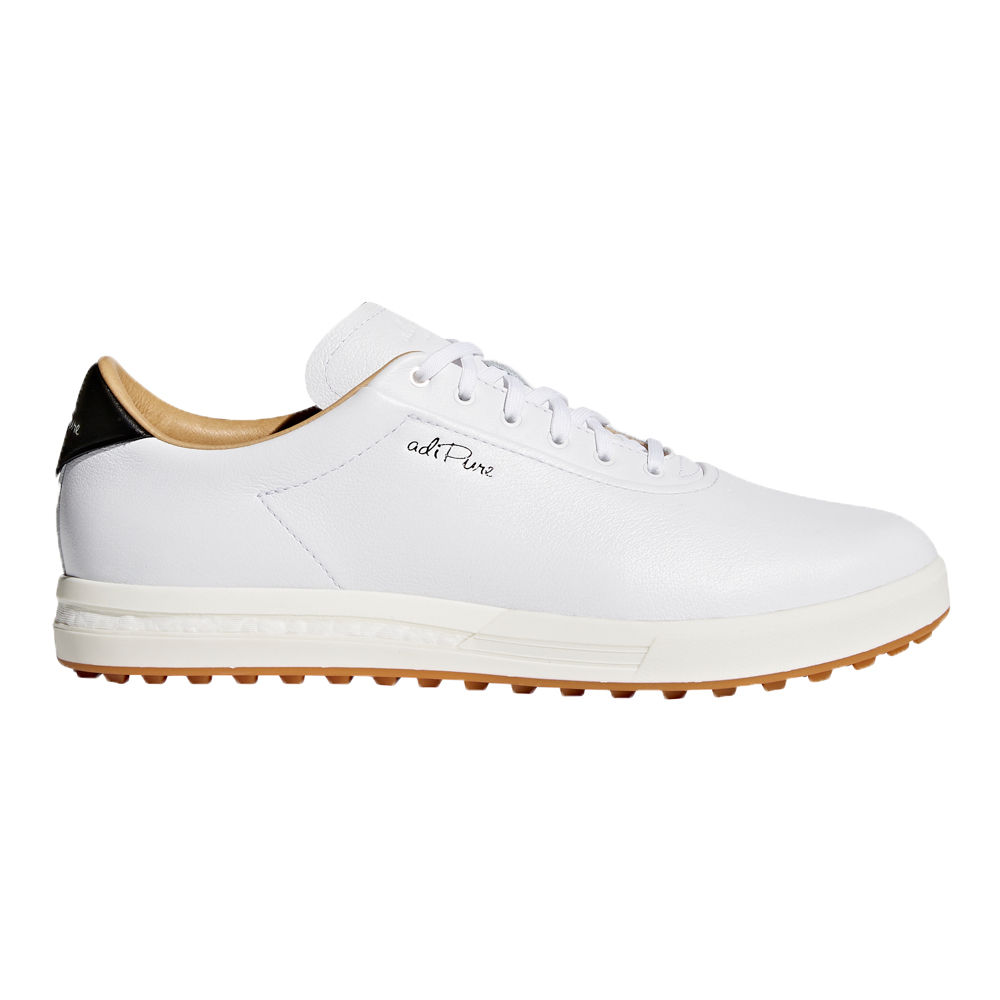 huge discount 91dc8 8dc6f Adidas 2018 AdiPure SP Mens Golf Shoes F33746 - Cloud WhiteO