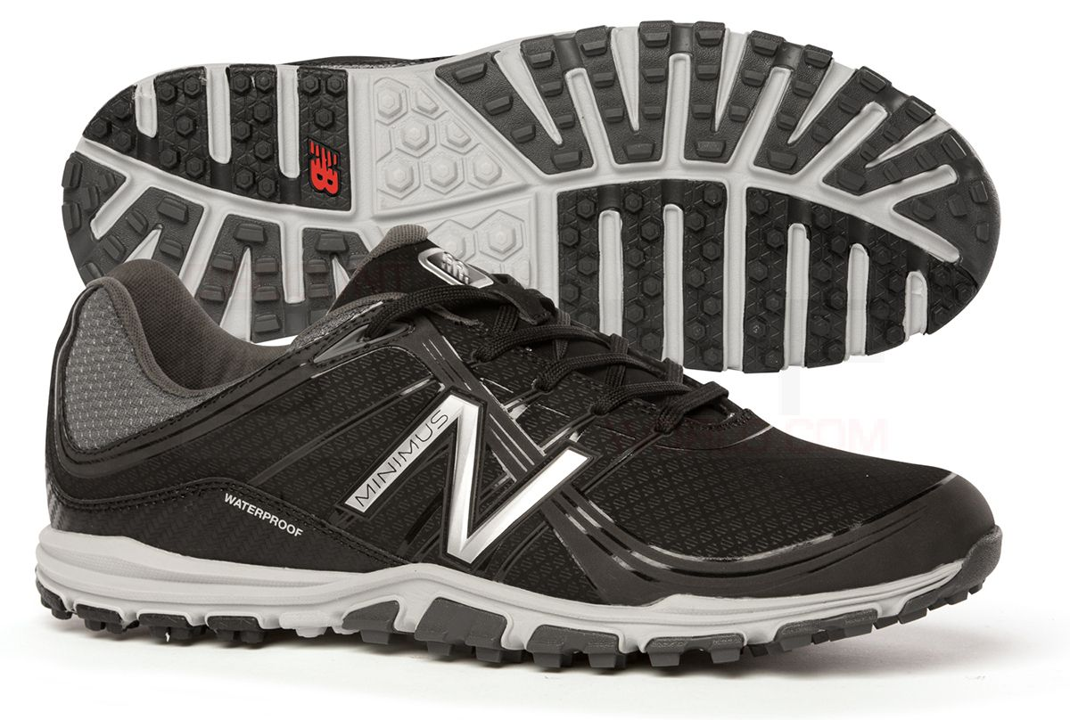 Mens New Balance NBG1005 Minimus Black Golf Shoes Z32694