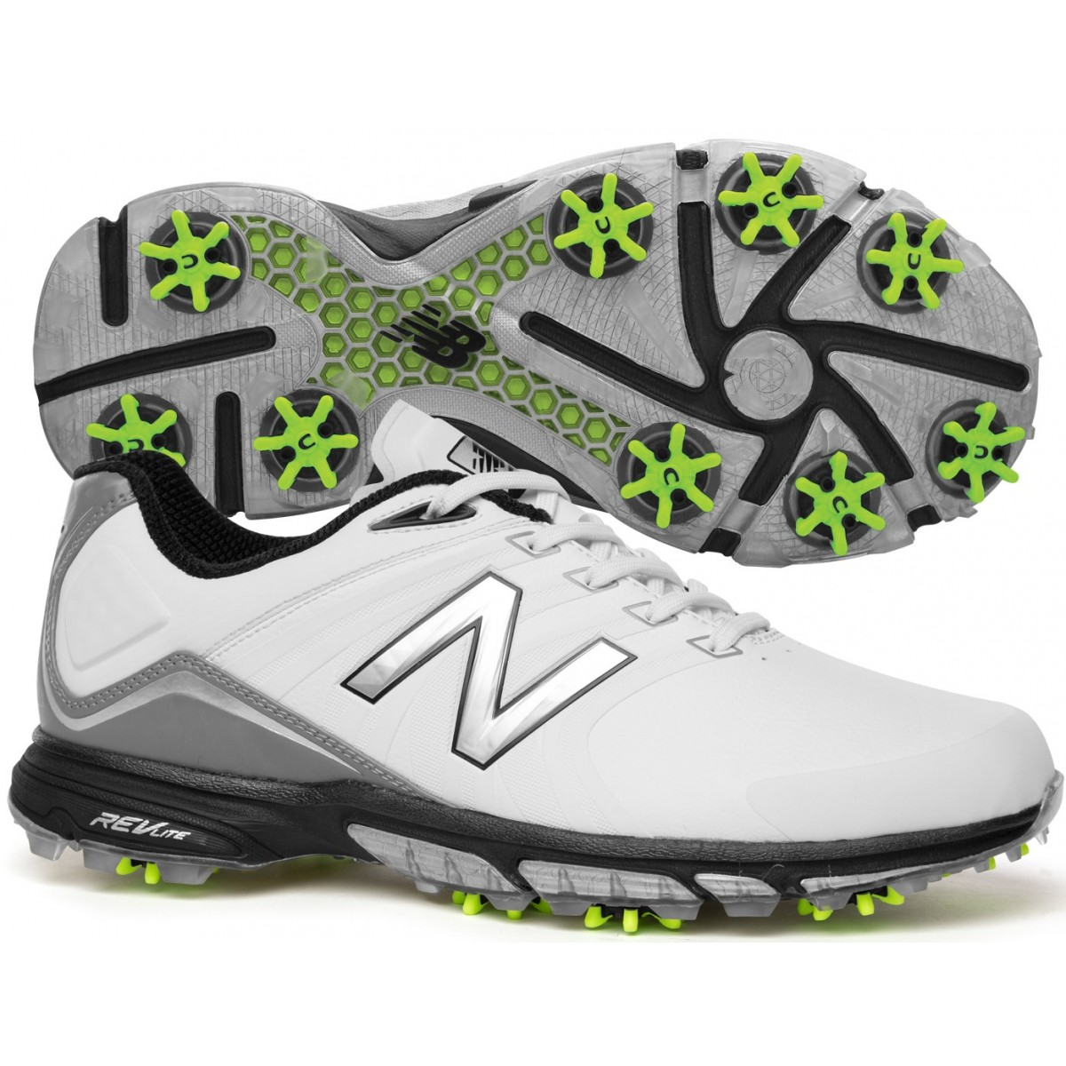 a7e56a803ed7f Details about New Balance Control NBG 3001 Mens Golf Shoes - White/Green -  Pick Size