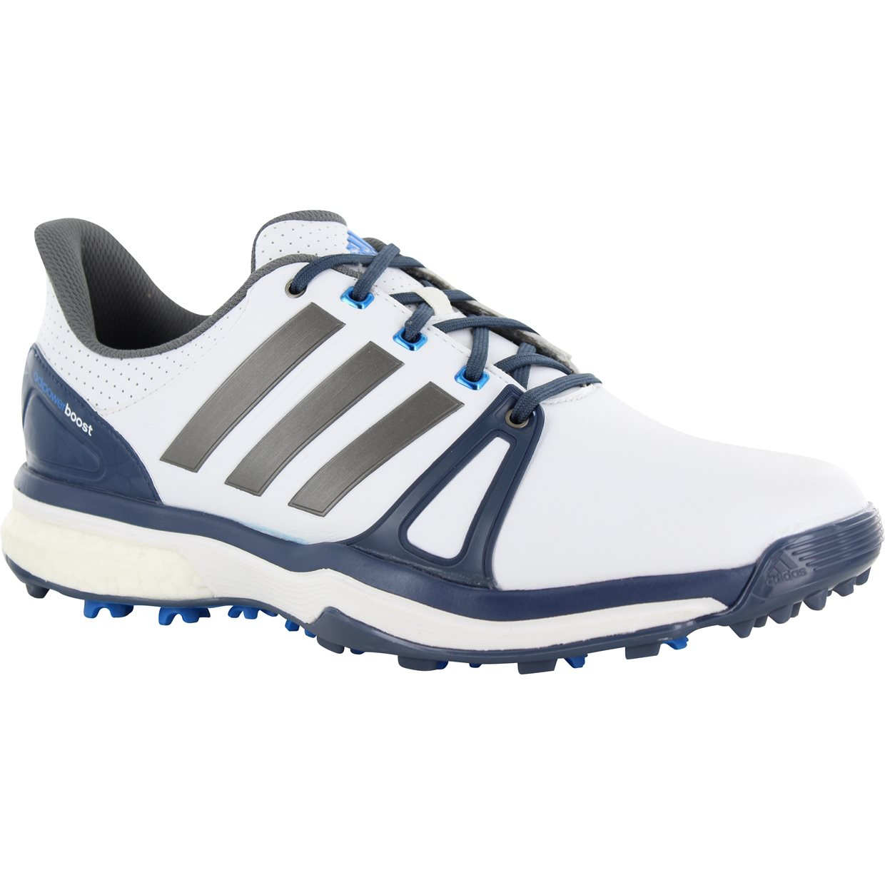 adidas golf shoes white blue