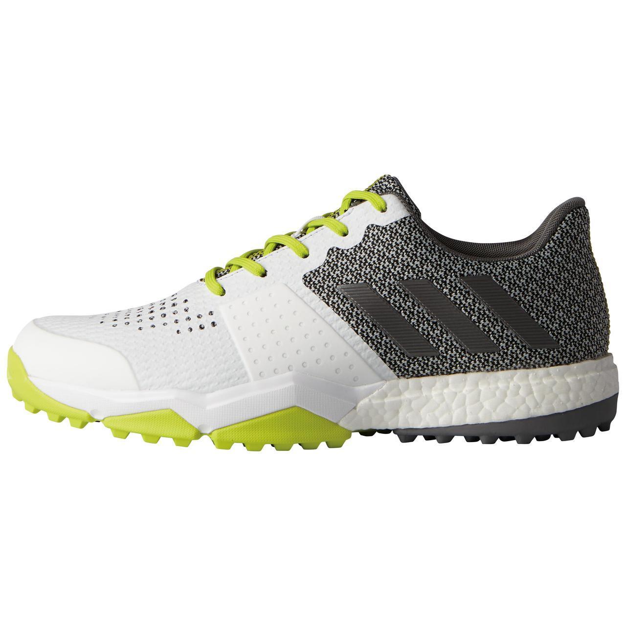 wholesale dealer b4f37 da0b0 Details about Adidas Adipower Sport Boost 3 Mens Golf Shoes -  WhiteSilverYellow - Pick Size