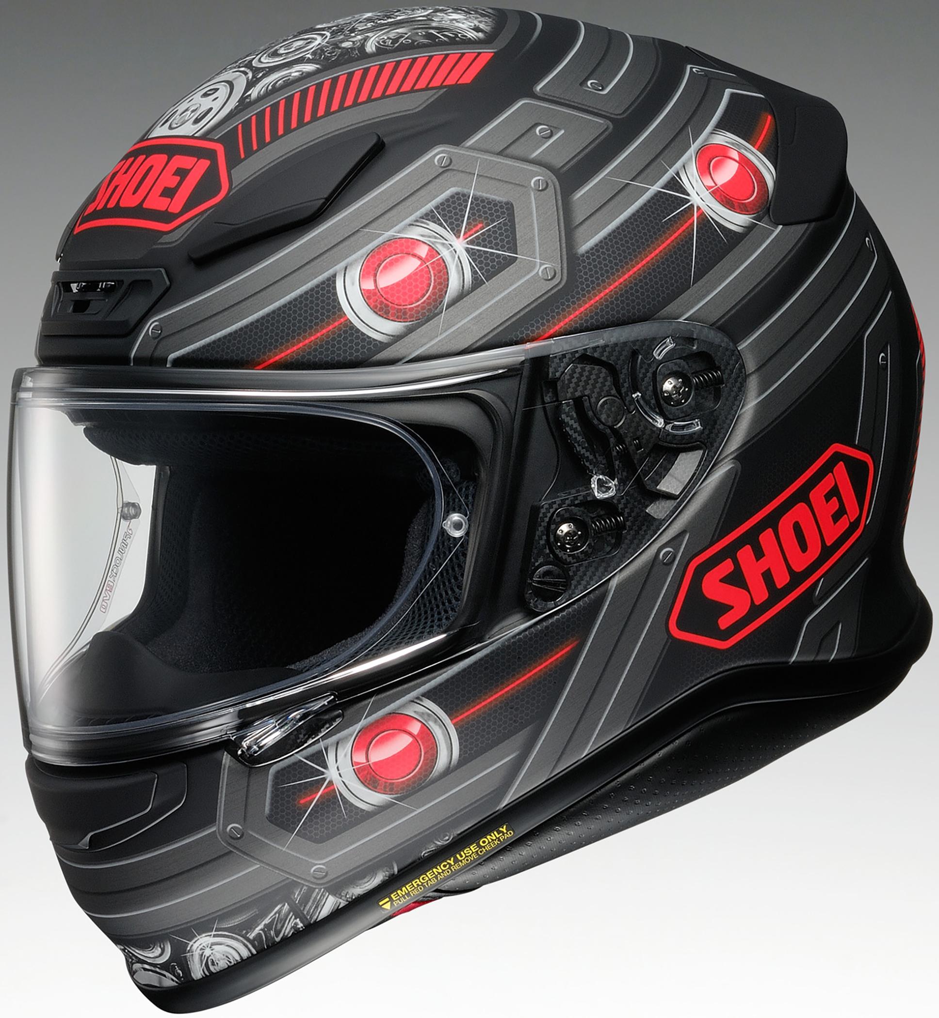 shoei rf 1200 trooper motorcycle street helmet 2018 ebay. Black Bedroom Furniture Sets. Home Design Ideas