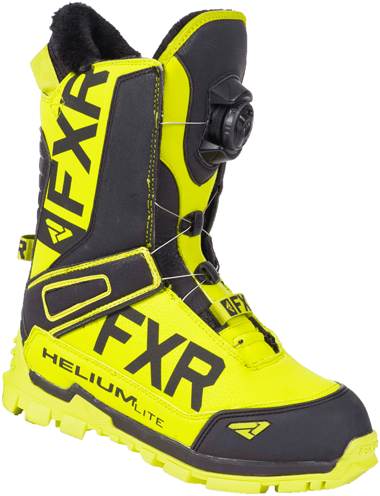 FXR Adult Black Ops X-Cross Lace Snowmobile Boots Snocross 2018
