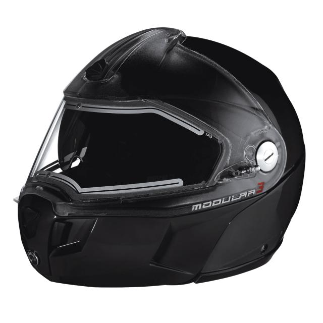 Snowmobile Helmet With Electric Shield