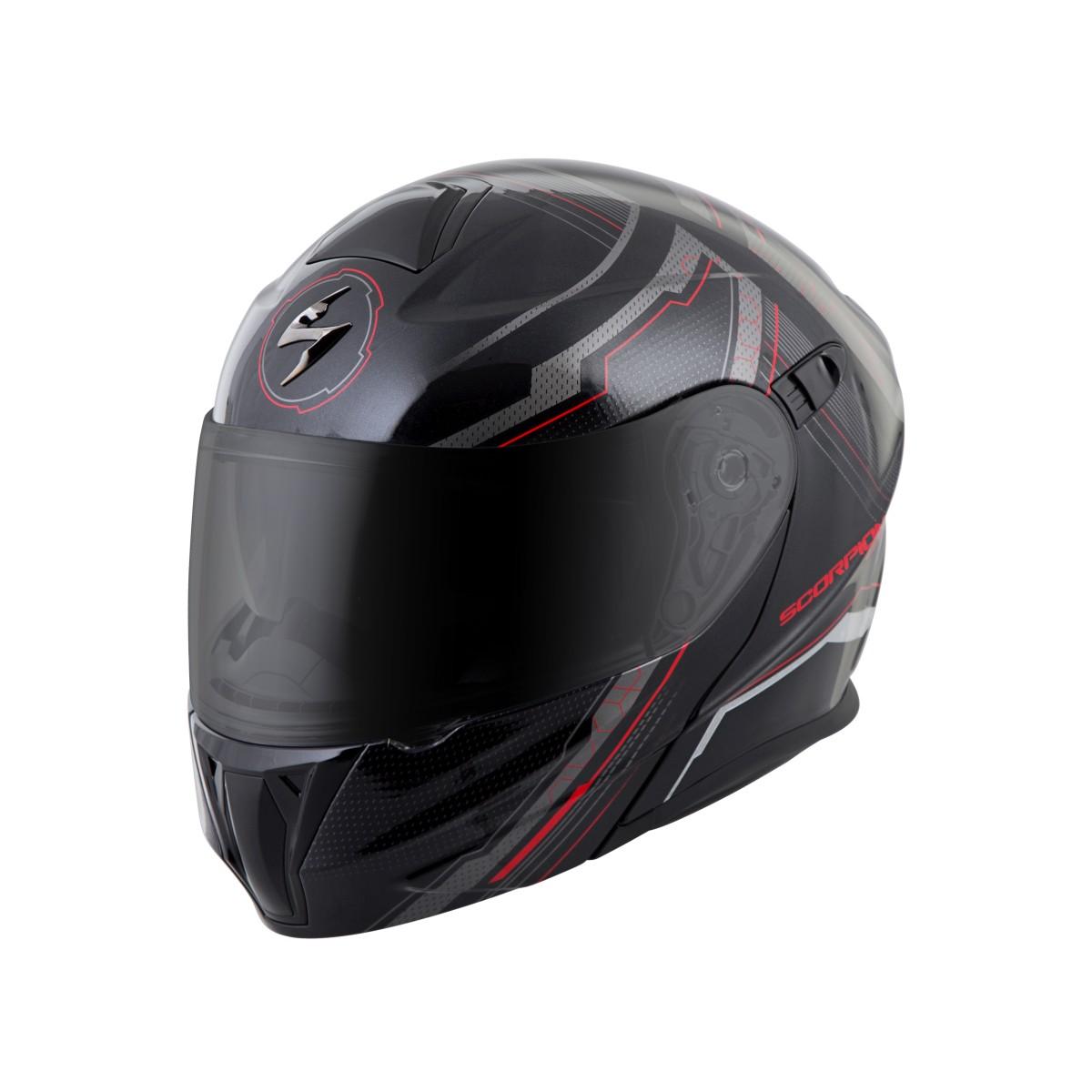 scorpion exo gt920 satellite modular motorcycle helmet ebay. Black Bedroom Furniture Sets. Home Design Ideas