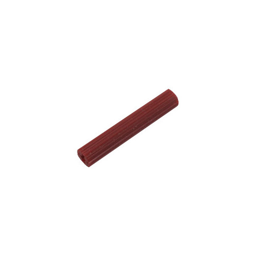 """1/"""" Red Plastic Anchors uses # 6 or # 8 Screw Box of 100"""