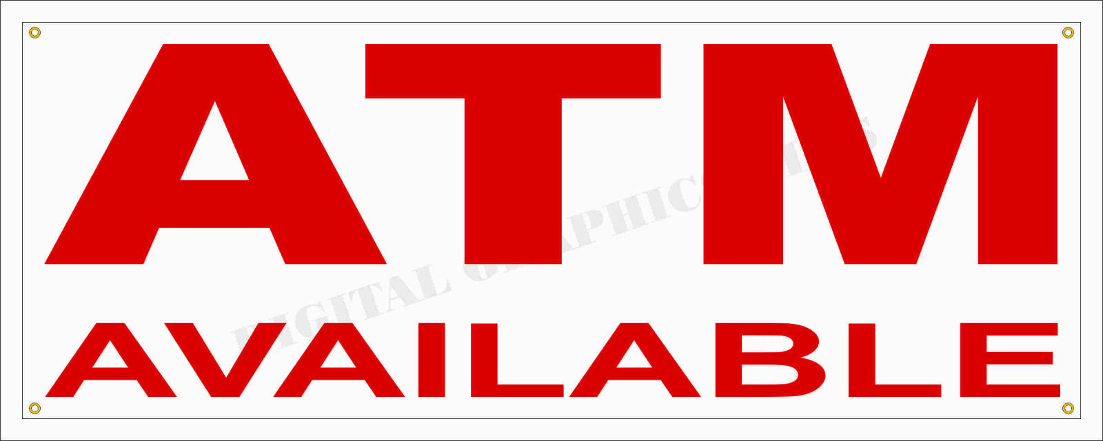 """12/"""" Sold Sticker Retail Store Outdoor Decal Sign"""