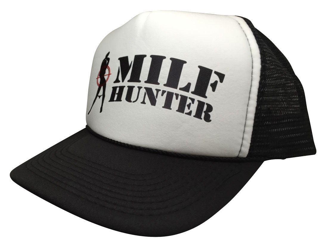 3c672a1997 Brand New Milf Hunter Hot Funny Hat Curved Cap Baseball Trucker Snapback