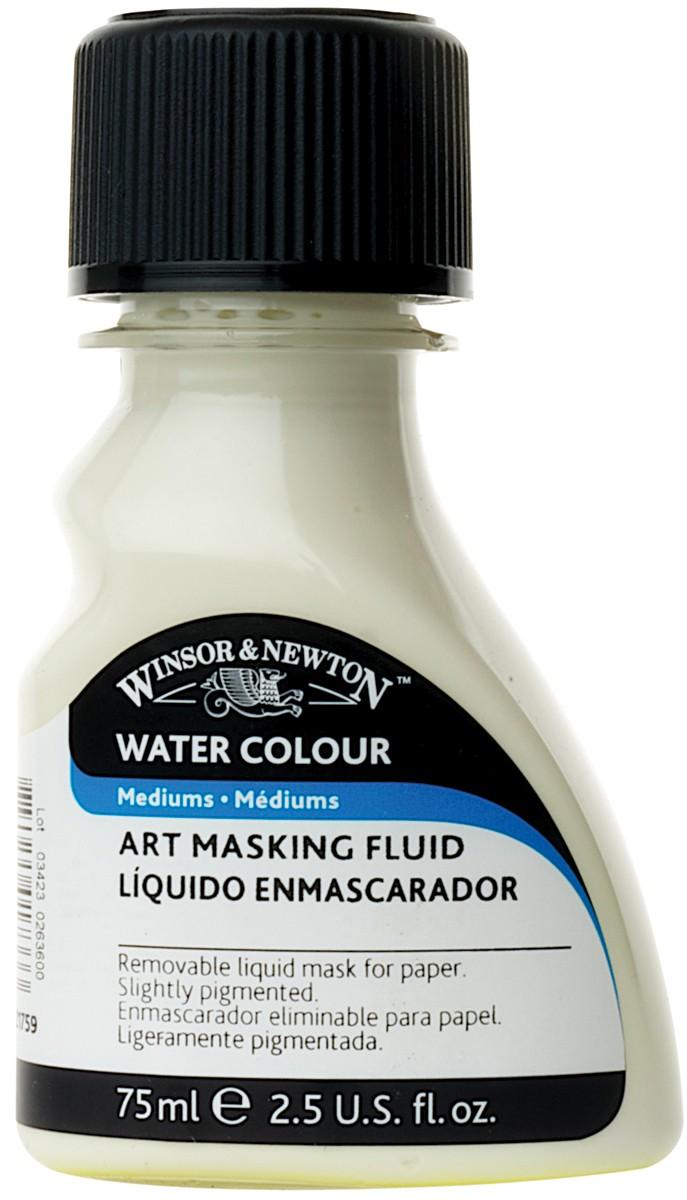 Watercolor masking fluid from Winsor & Newton
