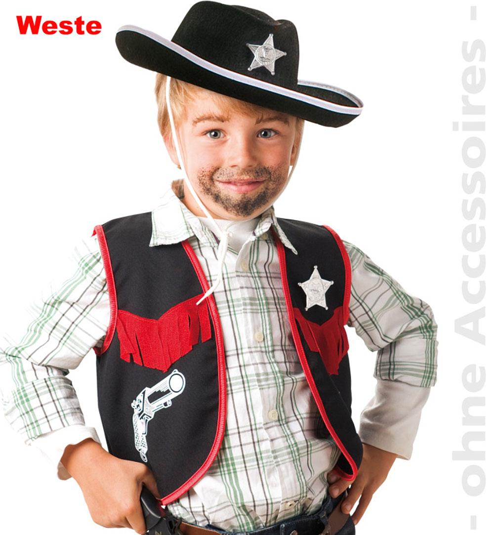 Bambini Cowboy Costume Bambini Costume Cowboy Costume Per Ragazzi Misura 104 116 140 NUOVO