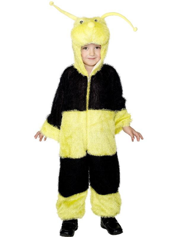 Biene Kostum Kinder Karneval Bienenkostum Gr 5 8 Jahre Hummel 30015