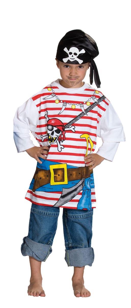 Piraten Kostum Shirt Kinder Piratenkostum T Shirt Ebay