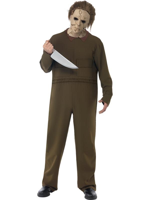 Halloween Michael Myers Costume.Details About Halloween Michael Myers Costume Size M Men S Carnival Serienkiller 39113