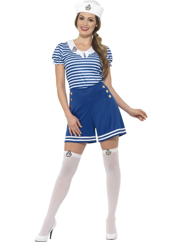 Matrosin Kostüm Seefahrerin Marine Damen Größe Xl Karneval 44631 Ebay