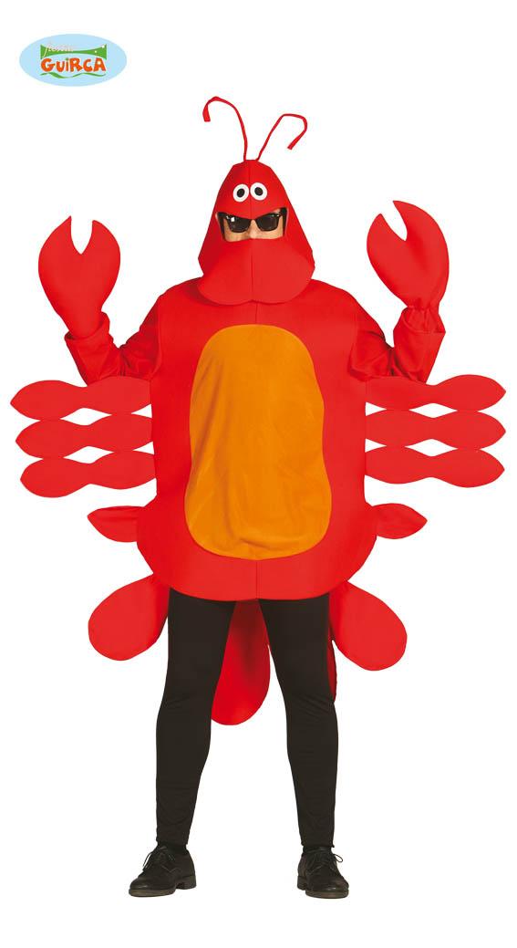 Détails Sur Homard Crabe Langouste Homard Cancer Costume Taille Unique