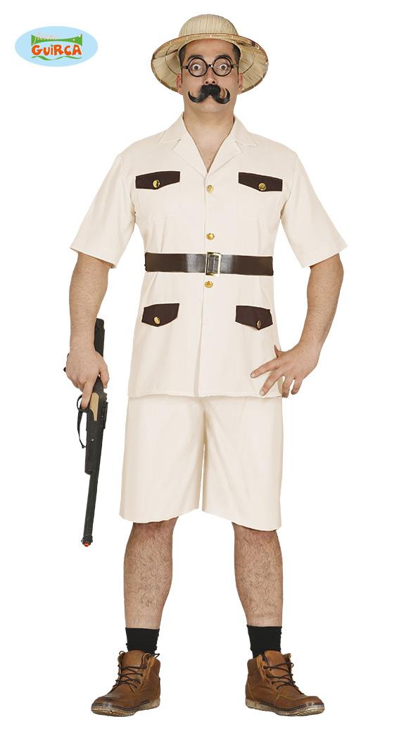 Safari Costume Safarikostüm Hunter Gamekeeper Men/'s