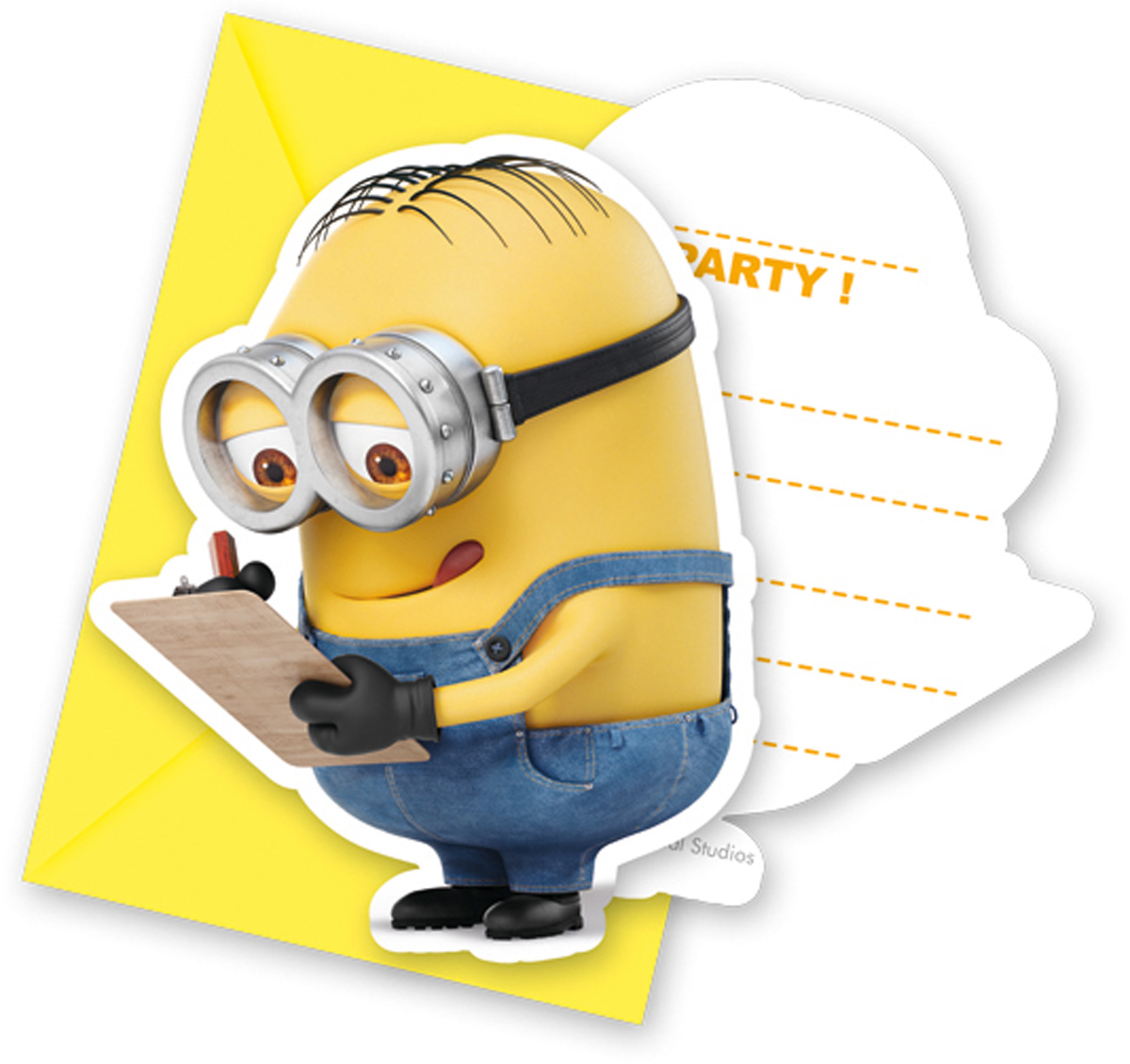 Invitation Invitations Invitation Card Minions Kids Party Birthday 6