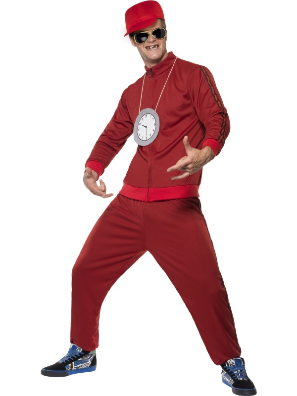 Rapper Boy Fancy Dress Costume Gangsta Outfit Age 8-10
