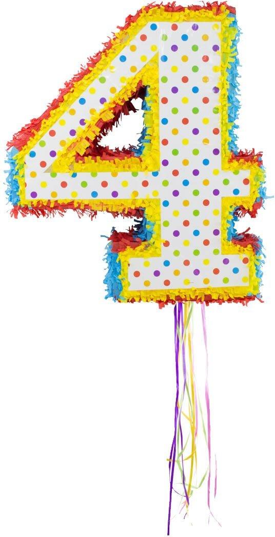 Pinata Zahl 2 Party Candy Versteck Partyspiel Kindergeburtstag