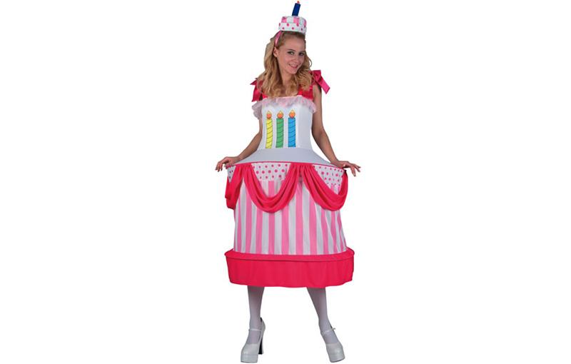 consegna veloce a basso costo vendita online Dettagli su Tortenkostüm Tortenkleid Dolci Torta Donna Costume Tgl M