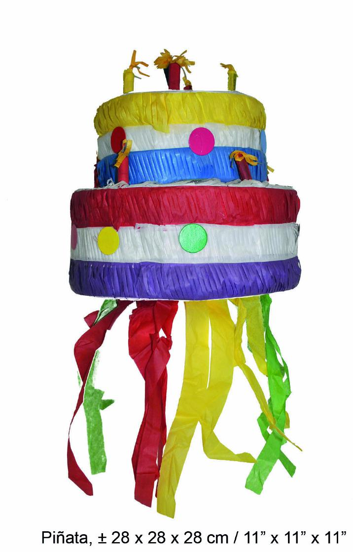 Excellent Cake Pinata For Fill Geburtstagsparty Party Kids Party 11 13 16X11 Funny Birthday Cards Online Alyptdamsfinfo