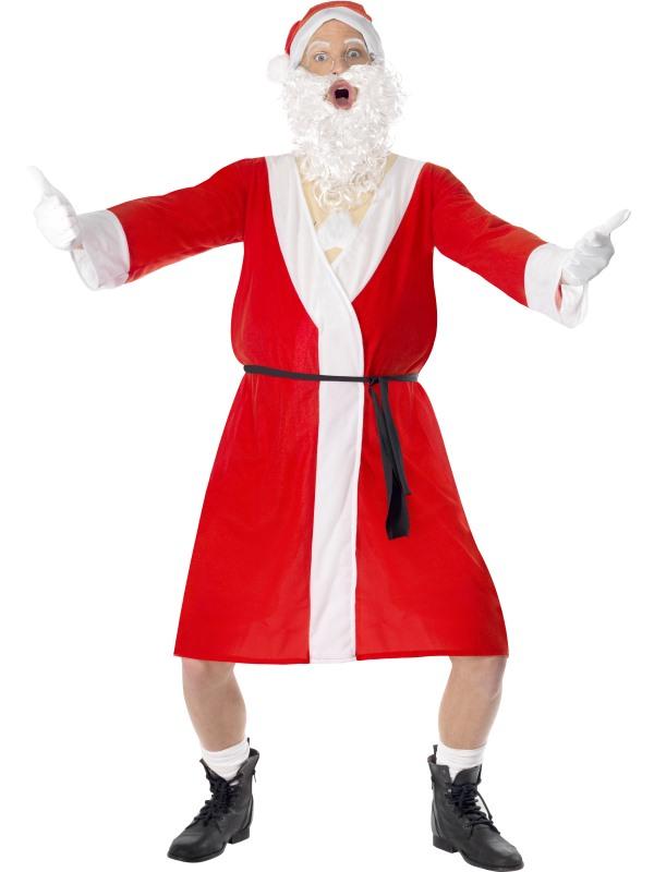 Santakostüm Nackter Nikolaus Stripper Santa Kostüm