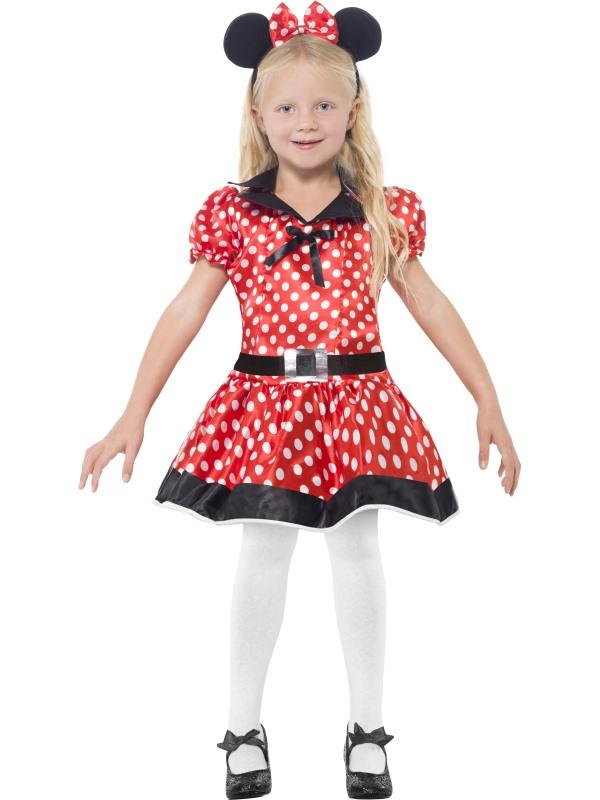 Maus Kostum Kinder Kleid Mickykostum Madchen 3 Teilig 10 12 Jahre Ebay