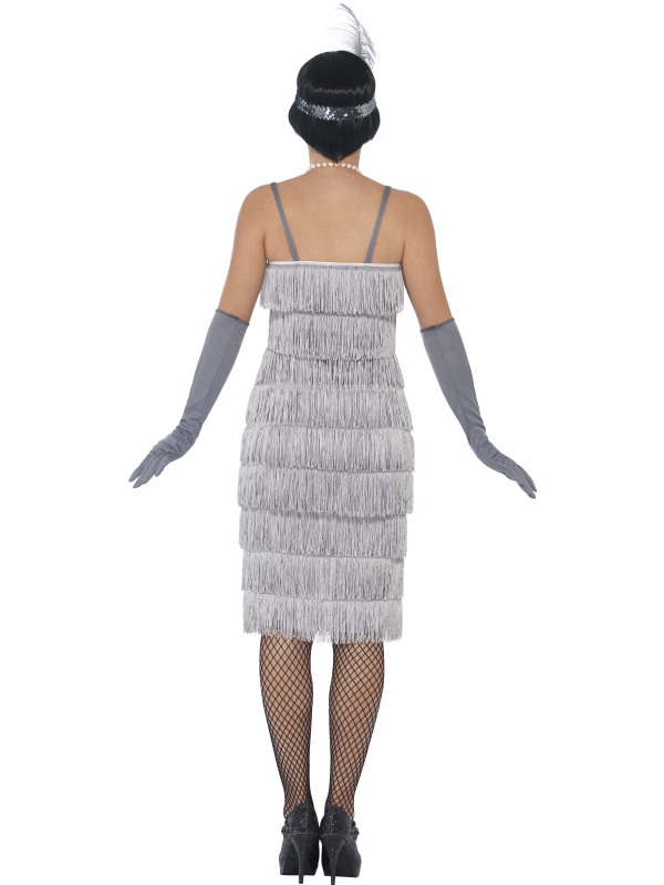 charleston 20er jahre kost m fransenkleid damen kleid. Black Bedroom Furniture Sets. Home Design Ideas