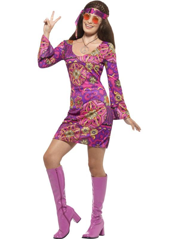 4-6 NWT Rubie/'s Halloween Sensations Hippie Chick Girls/' Costume Size Small